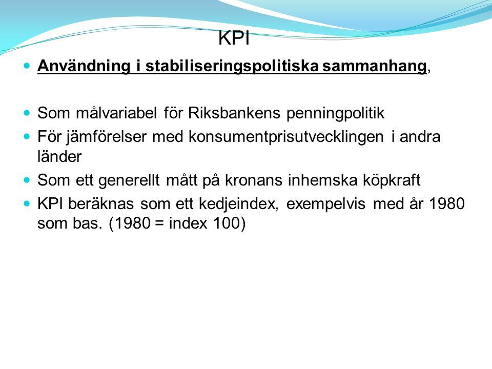 KPI Användning i stabiliseringspolitiska sammanhang,
