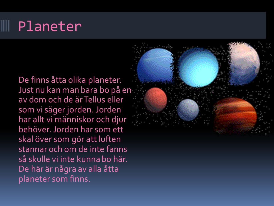 Planeter