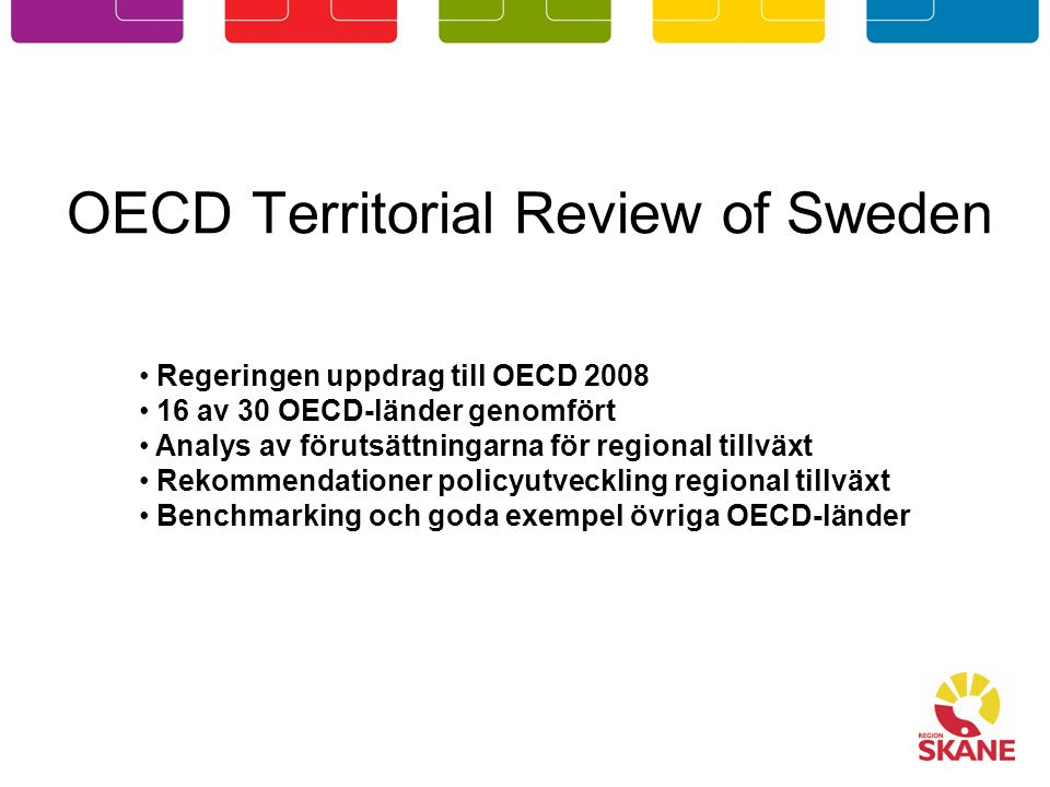 OECD Territorial Review of Sweden