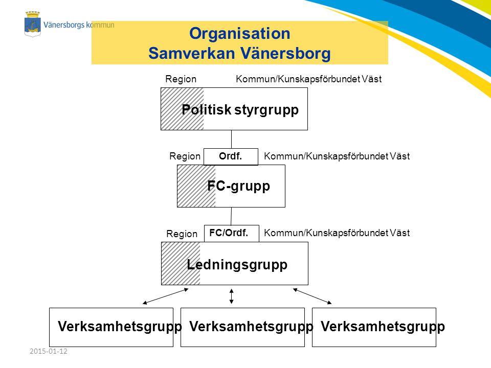 Organisation Samverkan Vänersborg