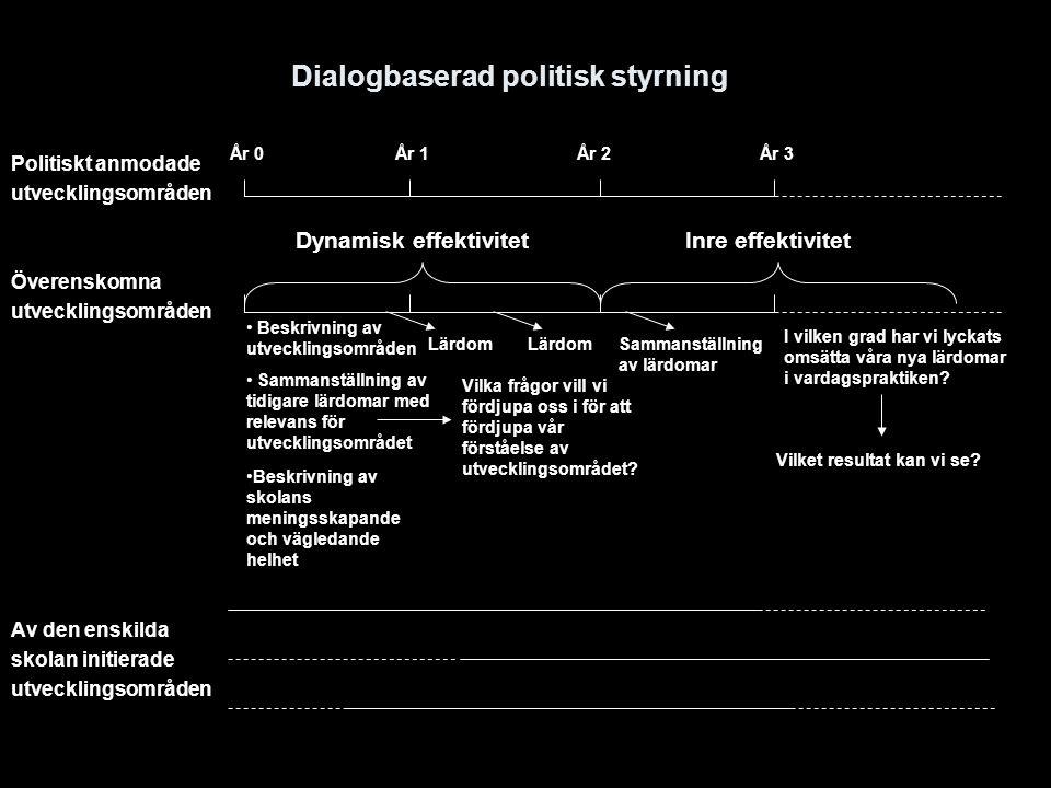 Dialogbaserad politisk styrning