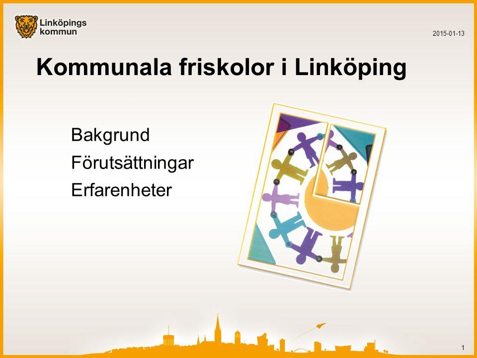 Kommunala friskolor i Linköping
