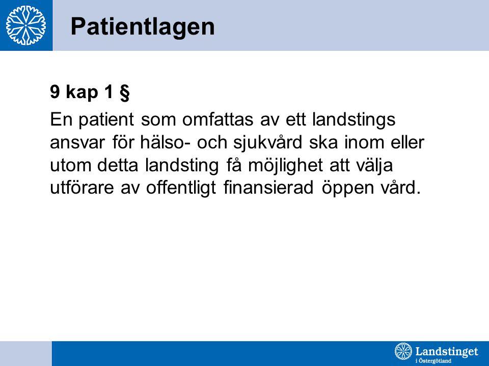 Patientlagen 9 kap 1 §