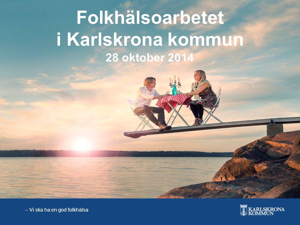 Folkhälsoarbetet i Karlskrona kommun