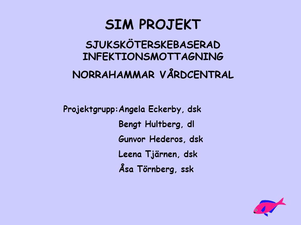 SJUKSKÖTERSKEBASERAD INFEKTIONSMOTTAGNING NORRAHAMMAR VÅRDCENTRAL