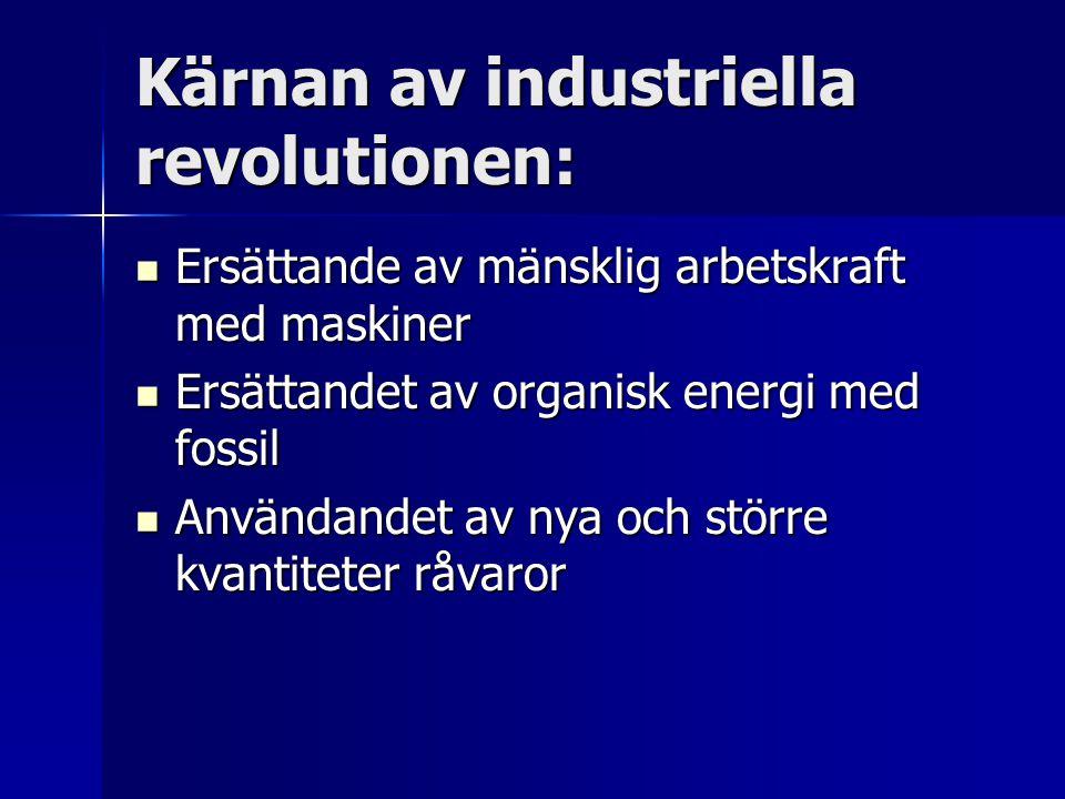 Kärnan av industriella revolutionen: