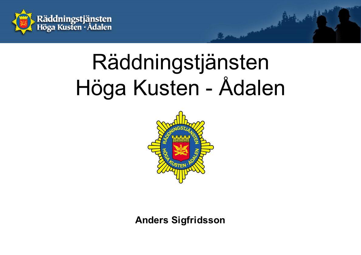 Räddningstjänsten Höga Kusten - Ådalen