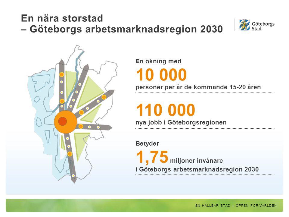 En nära storstad – Göteborgs arbetsmarknadsregion 2030