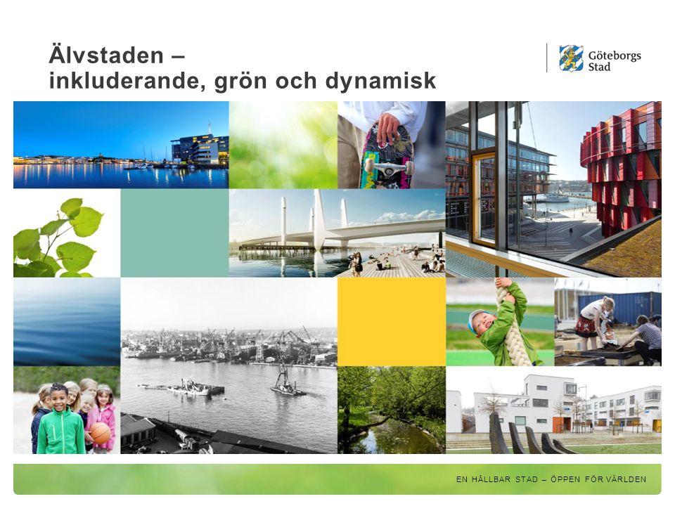 Älvstaden – inkluderande, grön och dynamisk