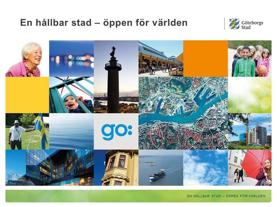 En hållbar stad – öppen för världen