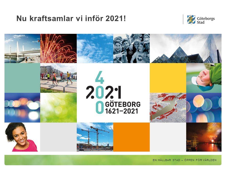 Nu kraftsamlar vi inför 2021!
