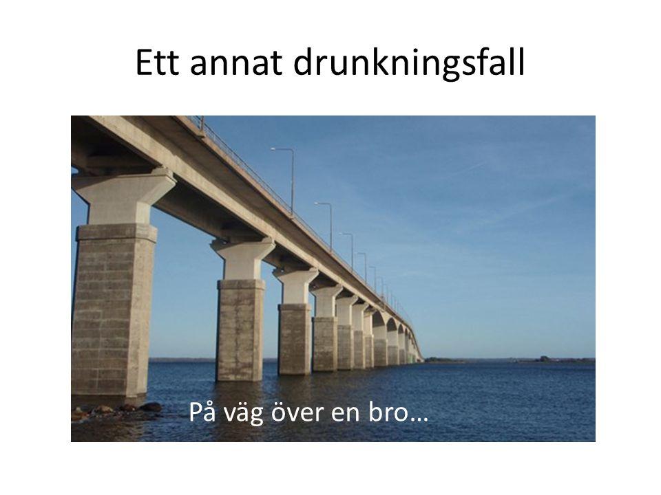 Ett annat drunkningsfall