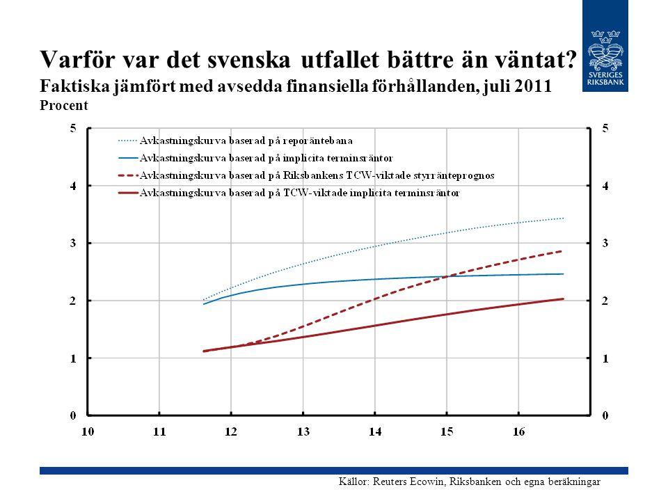 Varför var det svenska utfallet bättre än väntat