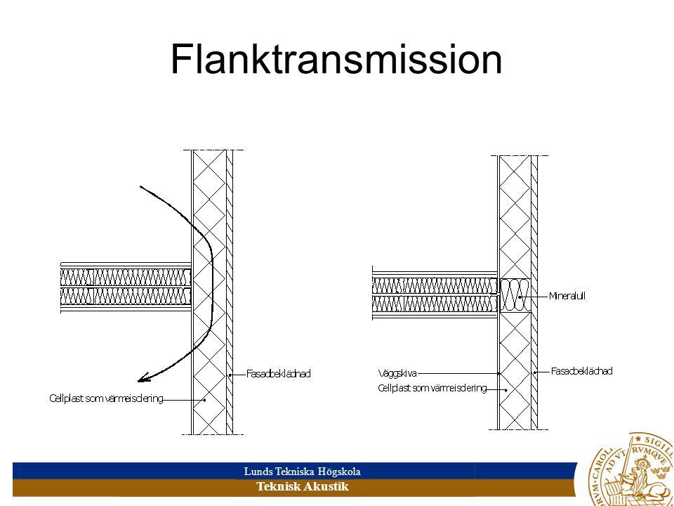 Flanktransmission