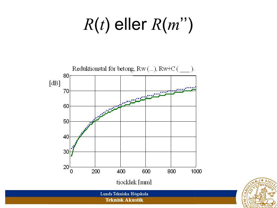 R(t) eller R(m'')