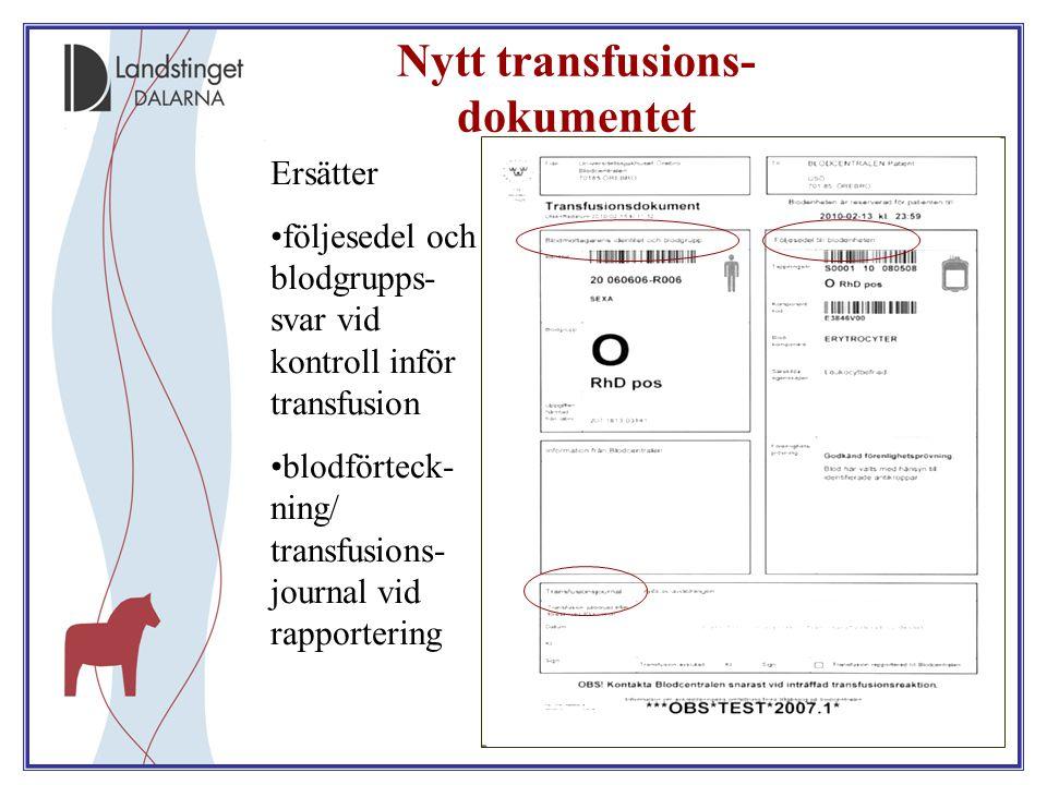 Nytt transfusions-dokumentet