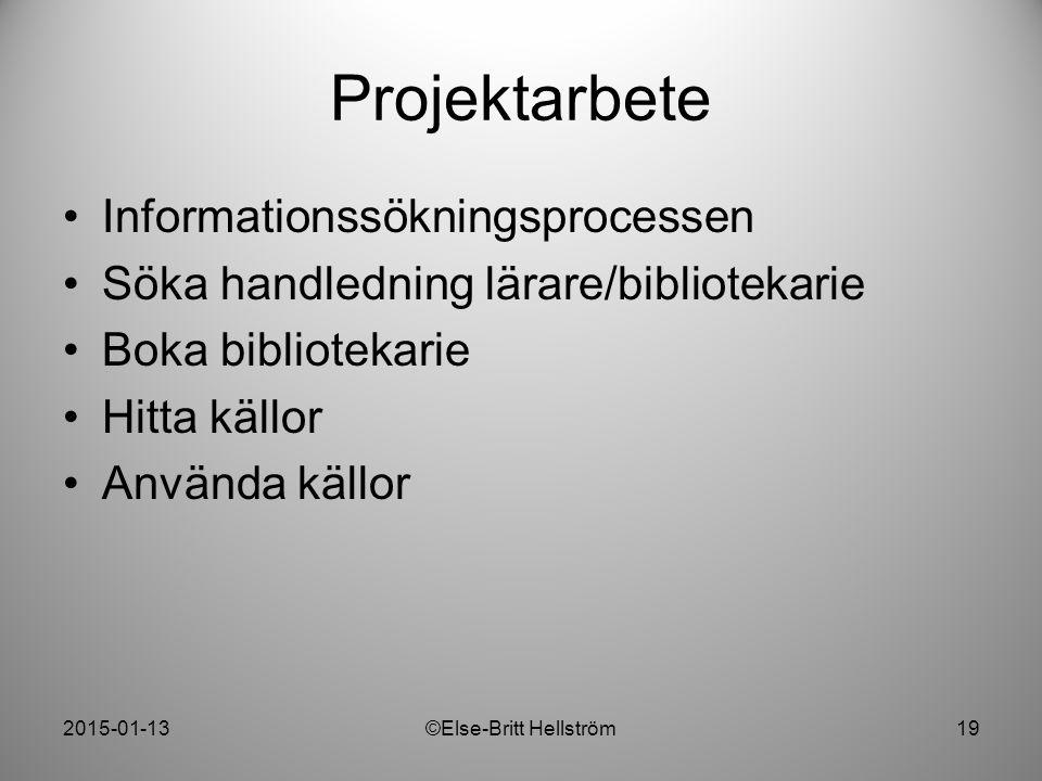 ©Else-Britt Hellström