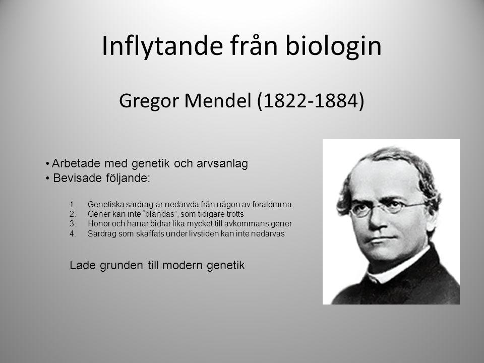 Inflytande från biologin