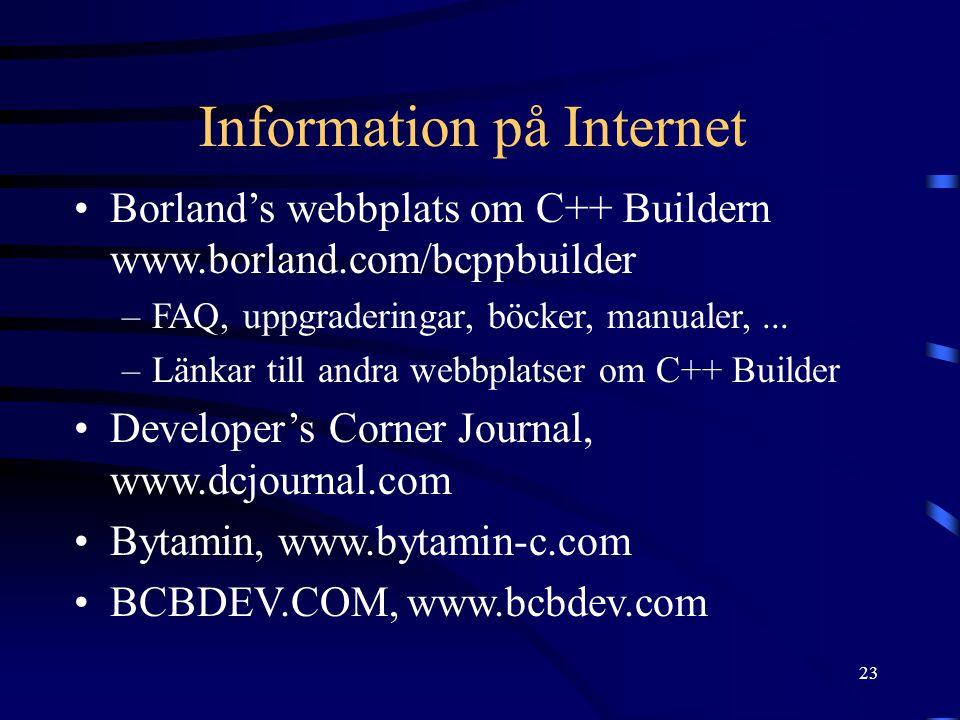 Information på Internet