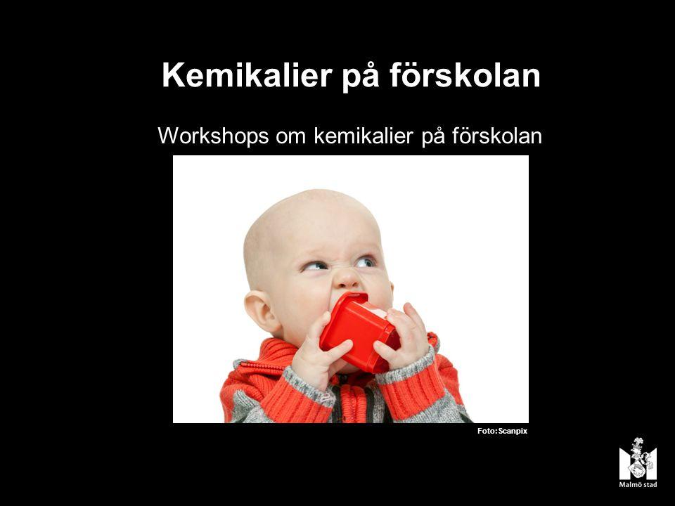 Kemikalier på förskolan