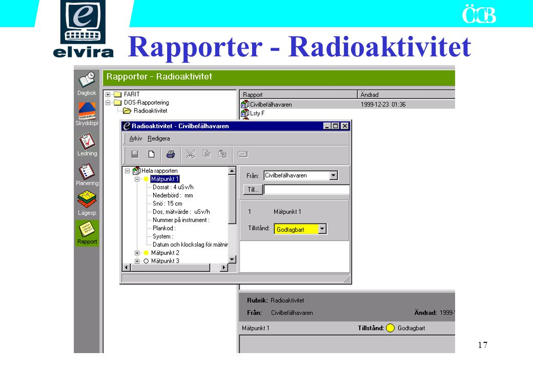 Rapporter - Radioaktivitet