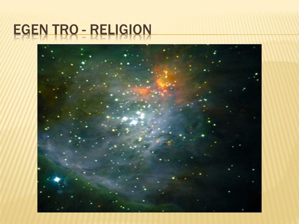 Egen tro - religion