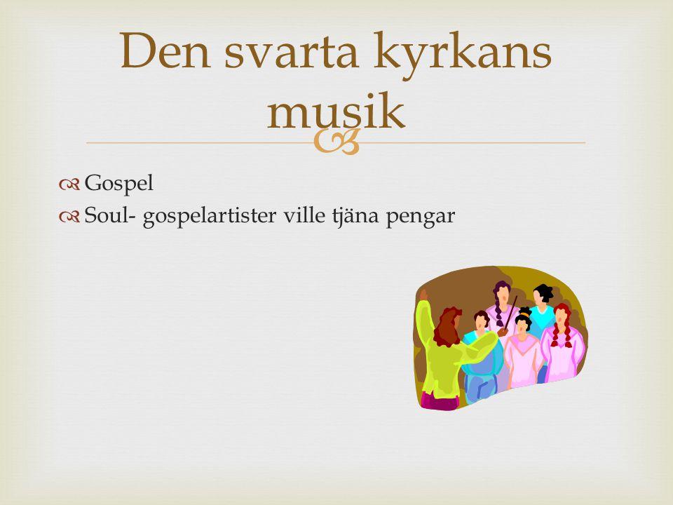 Den svarta kyrkans musik