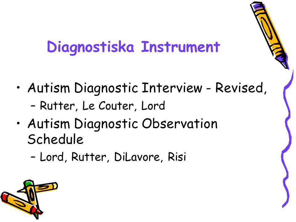 Diagnostiska Instrument