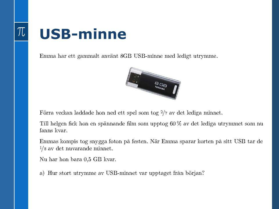 USB-minne 6 GB