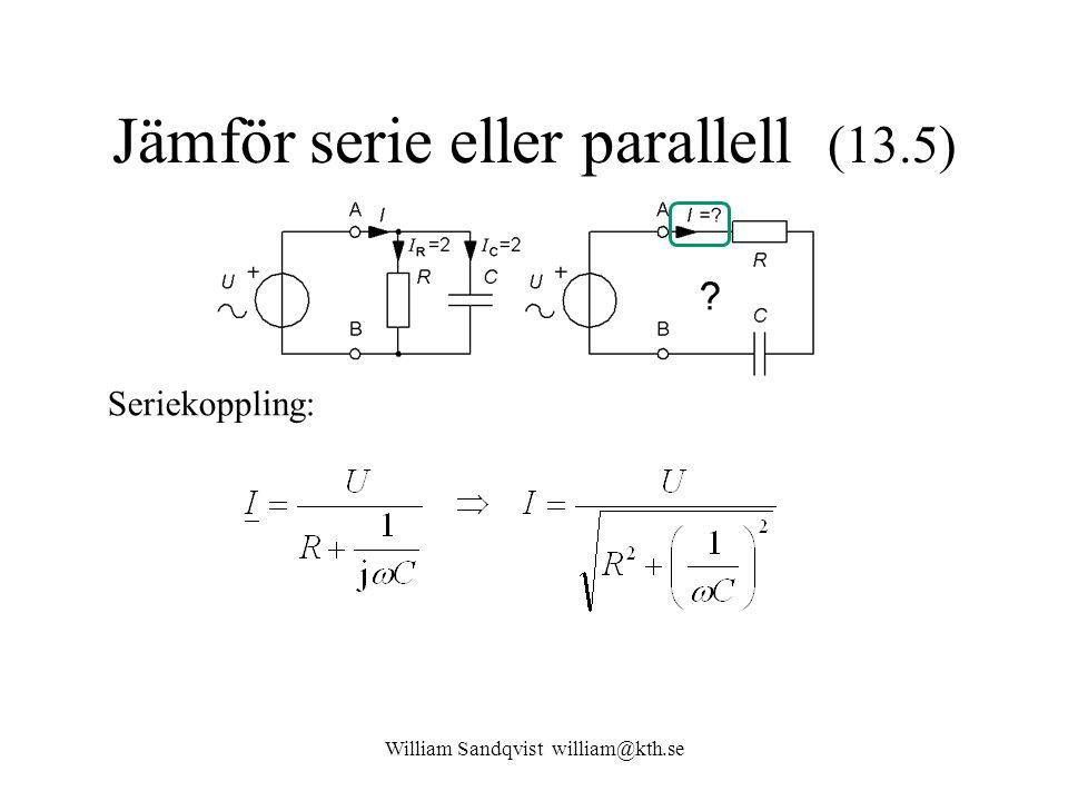 Jämför serie eller parallell (13.5)