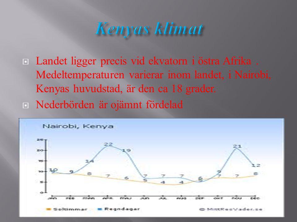 Kenyas klimat