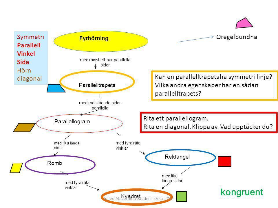 kongruent Symmetri Parallell Vinkel Sida Hörn diagonal Oregelbundna