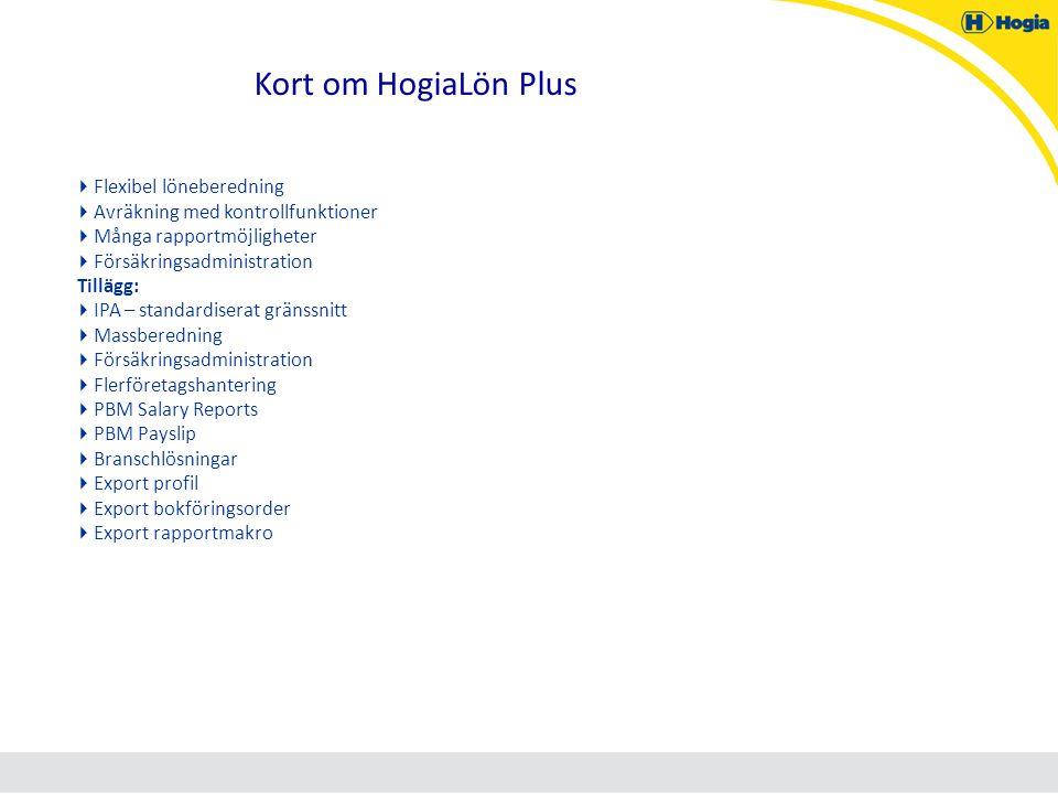 Kort om HogiaLön Plus Flexibel löneberedning