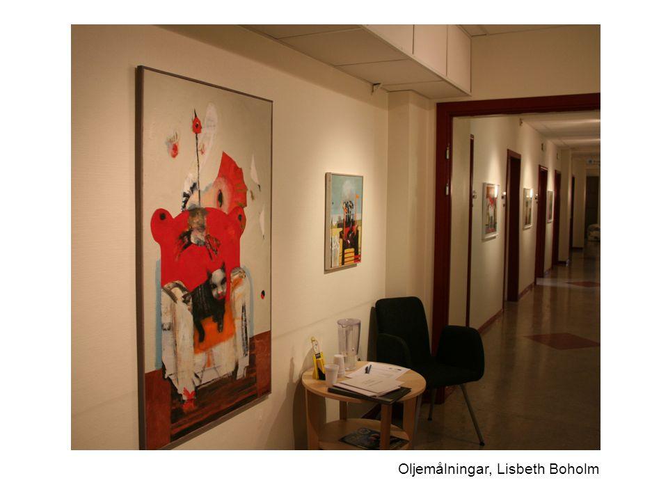 Oljemålningar, Lisbeth Boholm