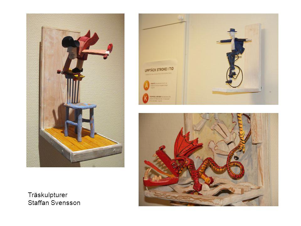 Träskulpturer Staffan Svensson