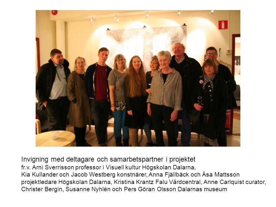 Invigning med deltagare och samarbetspartner i projektet
