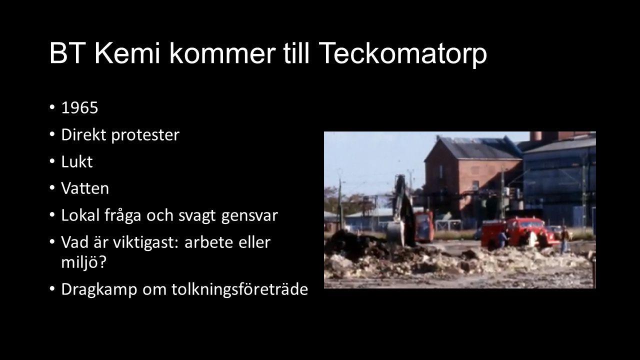 BT Kemi kommer till Teckomatorp