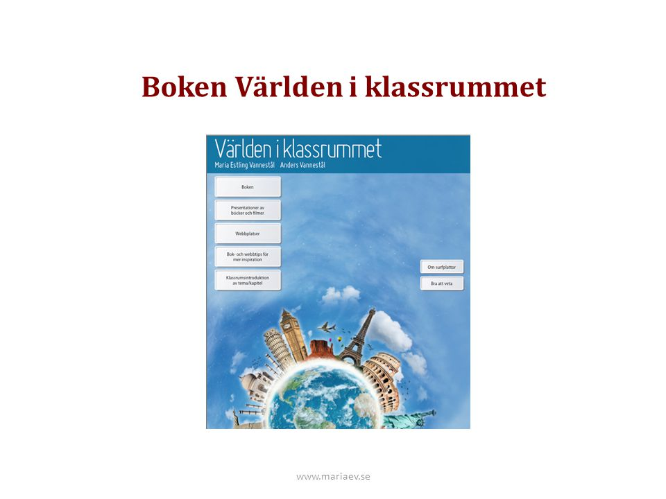 Boken Världen i klassrummet