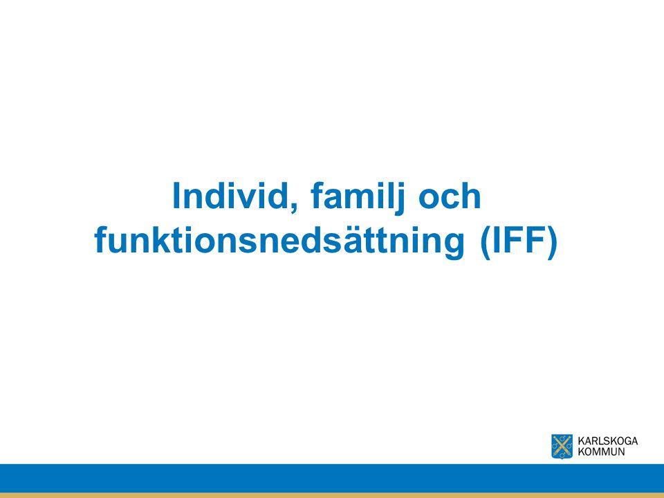 Individ, familj och funktionsnedsättning (IFF)
