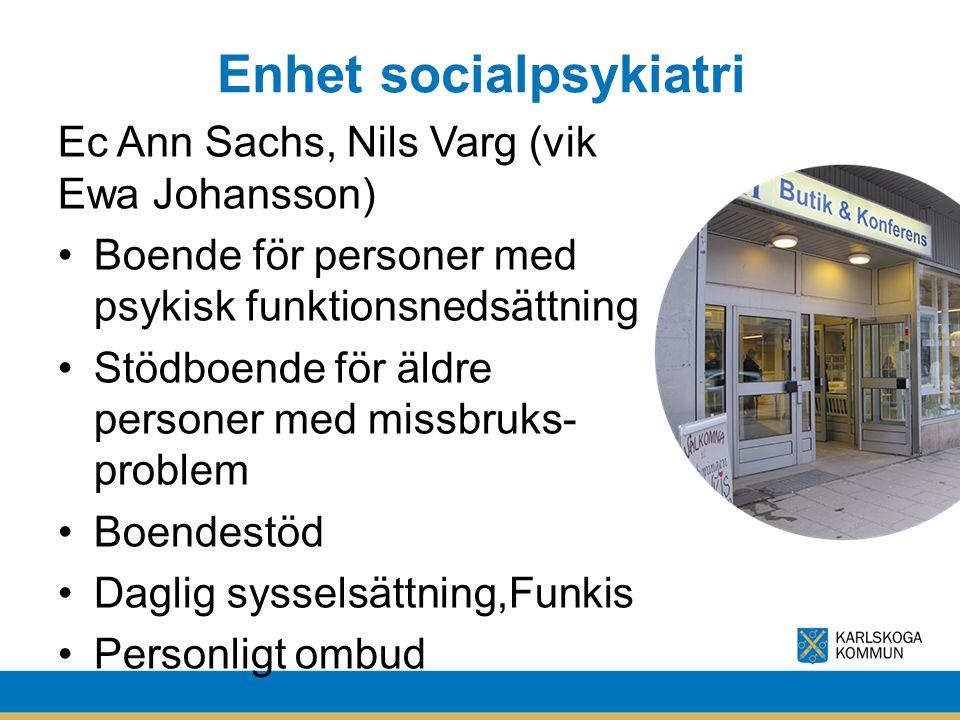 Enhet socialpsykiatri