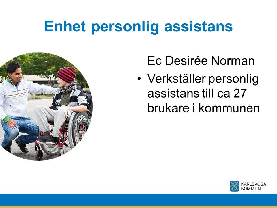 Enhet personlig assistans