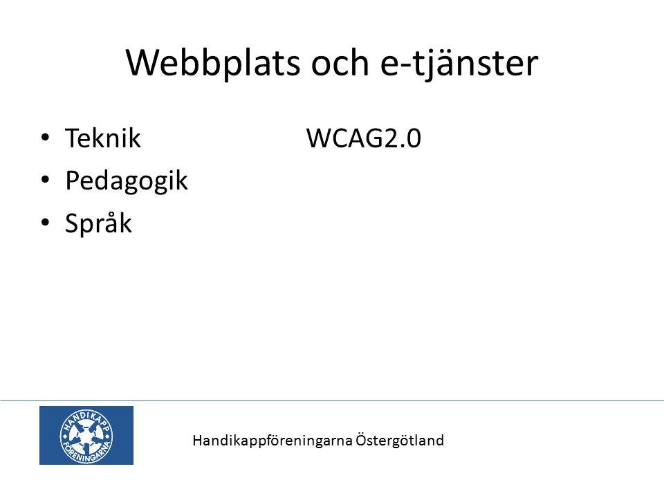 Webbplats och e-tjänster