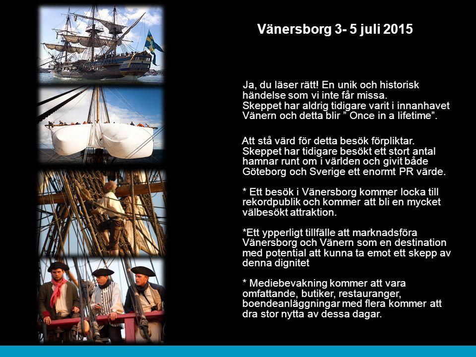 Vänersborg 3- 5 juli 2015