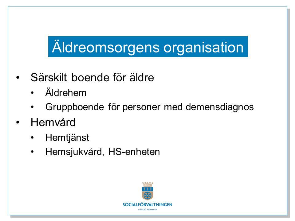 Äldreomsorgens organisation