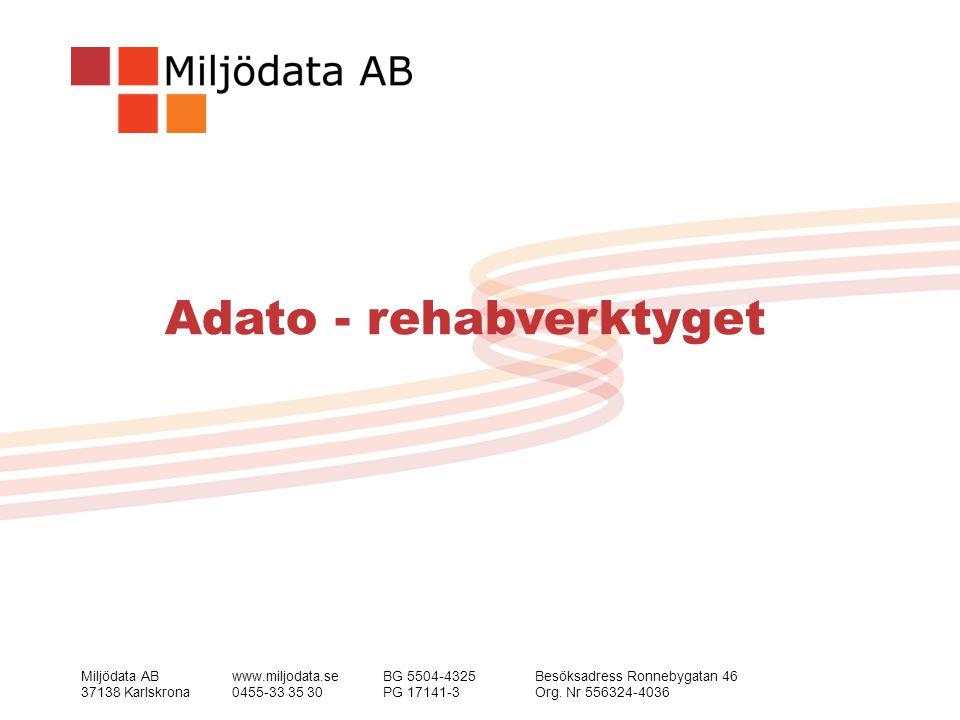 Adato - rehabverktyget