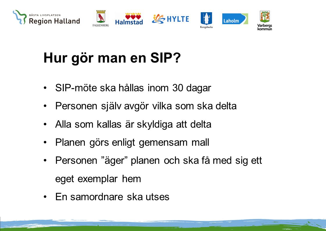 Hur gör man en SIP SIP-möte ska hållas inom 30 dagar