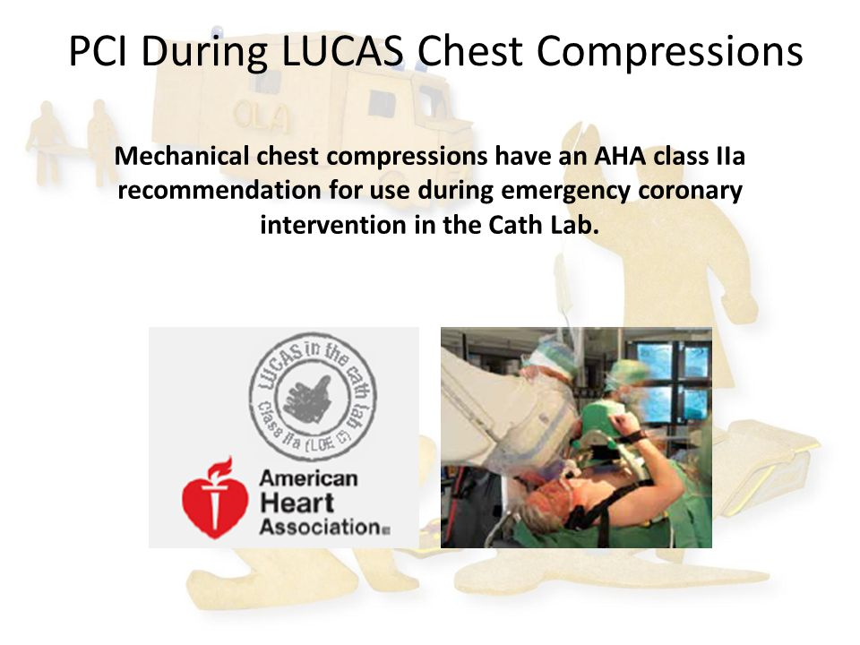 PCI During LUCAS Chest Compressions