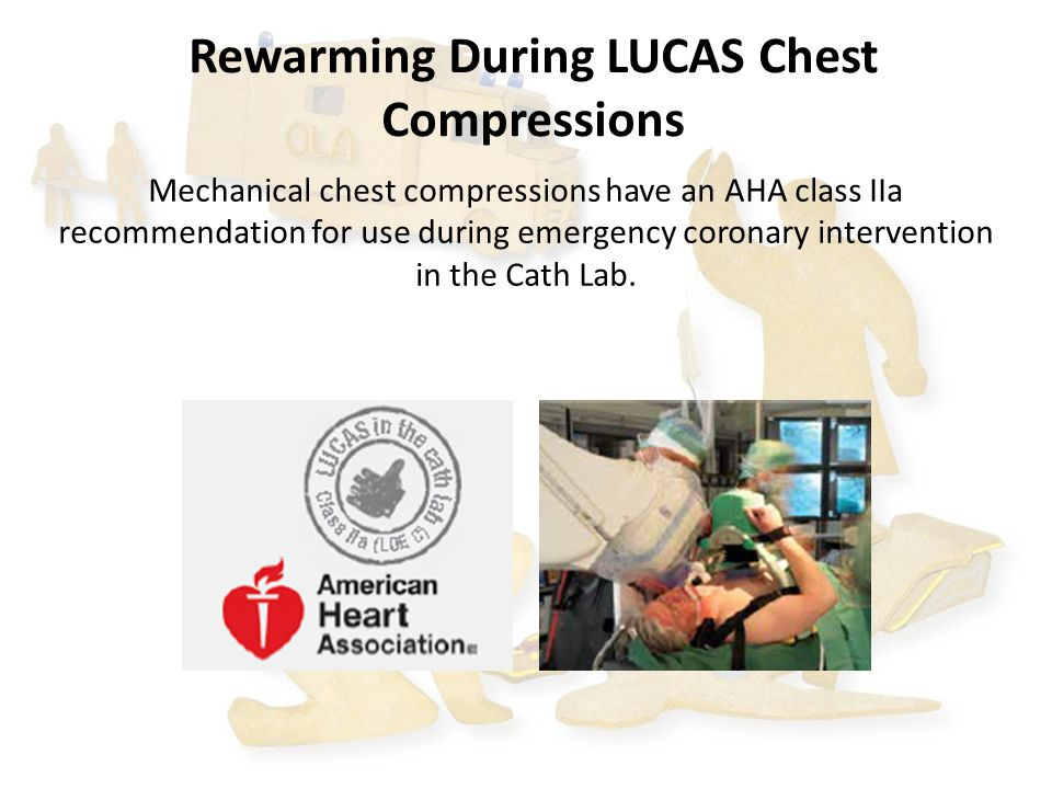 Rewarming During LUCAS Chest Compressions