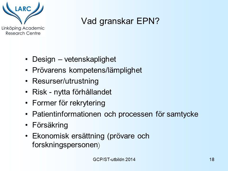 Vad granskar EPN Design – vetenskaplighet