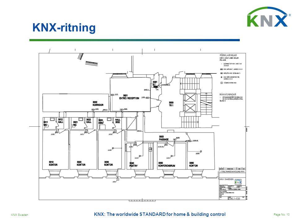 KNX-ritning